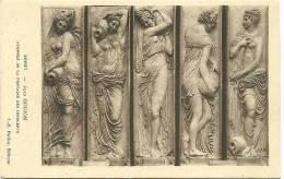 Jean Goujon - Nymphes De La Fontaine Des Innocents - Sculptures