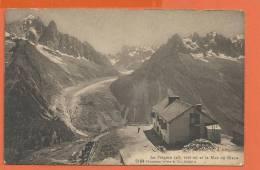 S236, La Flégère, Mer De Glace, 5184, Circulée 1920 Sous Enveloppe - Chamonix-Mont-Blanc