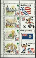 MONTSERRAT - 1994 World Cup Soccer Overprinted ´SPECIMEN´. Scott 845. MNH ** - Montserrat