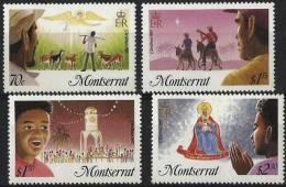 MONTSERRAT - 1985 Christmas. Scott 588-91. MNH ** - Montserrat