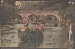 45----OLIVET---Le Corso Fleuri--les Bords Du Loiret--animé--colorisée - Unclassified