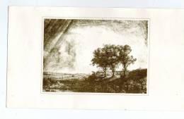 REMBRANDT , Paysage Aux Trois Arbres , Landschaft Mit Den Drei Baümen , Landschap Met Drie Bomen - Autres Collections