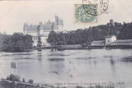 Pierrefonds - Château - Vue Prise Depuis La Gare - Pierrefonds