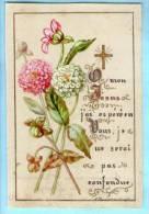 Image Pieuse Religieuse Holy Card Peinte à La Main - Souvenir Communion Gisèle De Lesseps Saint Pierre De Chaillot - Devotion Images