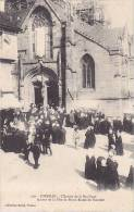 21559 Josselin , Entrée Basilique Jour Fete Notre Dame Du Roncier -599 David ! - Josselin