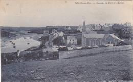 21561 BELLE ILE En MER Sauzon Le Port Et L' Eglise -54 éd ?  Jeanne Blarez? - Belle Ile En Mer