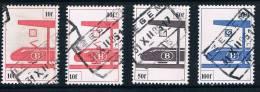 """SP455/458 - Gest/obl """"IZEGEM"""" - 4 Zegels/timbres - Zie/voir Scan - 1952-...."""