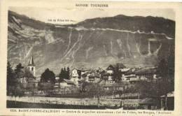 SAVOIE TOURISTE-SAINT-PIERRE D'ALBIGNY-Centre De Superbes Excursions:Col Du Frene,les Bauges ,l'Arclusaz - Saint Pierre D'Albigny