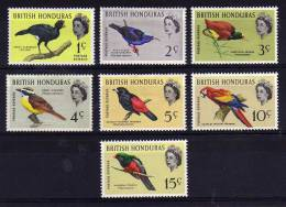 British Honduras - 1962 - Birds (Part Set) - MH - British Honduras (...-1970)