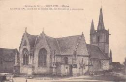 21564 Environs BUBRY - C/ Plouay - Saint Yves - L' Eglise 1589 Inscrite Fronton . Coll Laurent Nel Rennes - France