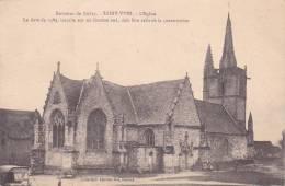 21564 Environs BUBRY - C/ Plouay - Saint Yves - L' Eglise 1589 Inscrite Fronton . Coll Laurent Nel Rennes