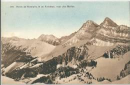 Dents De Brenlaire Et Folliéran, Vues Des Merlas - FR Fribourg
