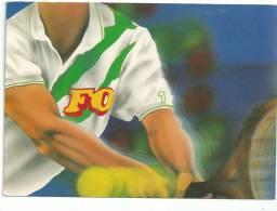 FO LA PUISSANCE D' ACTION DU SYNDICALYSME GAGNANT ! Confédération Force Ouvrière Tennis Emblème Sur Tee Shirt - Gewerkschaften