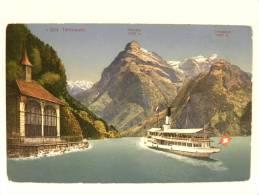 CPA Suisse - Tellskapelle - Gitschen - Urirotstock - UR Uri