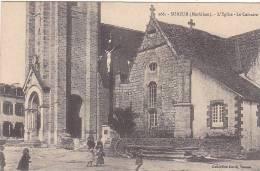21592 Surzur, L´Eglise, Le Calvaire 266 David Vannes - Annimée Enfant -François Et Auguste Thomas - Autres Communes