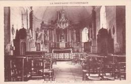 21597 PLUMELIN -- Interieur De L'église- Bretagne Pittoresque, A Waron 3 - France