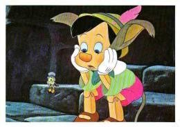 DISNEY. PINOCCHIO Et Cricket. N° Disney 535552. - Disney