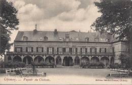 PLAN PEU COMMUN CHIMAY  FACADE DU CHATEAU EDITION SEBILLE POUCET - Beaumont