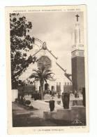 CPA - 75 - Paris : Exposition Coloniale Internationale : 1931 : Les Missions Catholiques : Animation : Vue Peu Commune - Expositions