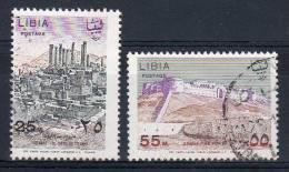1.1.1967, Tourisme, Y&amp T  No.  296 + 297 / Michel-No.  230 + 231, Oblitéré , Lot 37432 - Libia