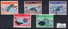 8.9.1967, Jeux Sportives, Y&amp T  No.  306 - 310 / Michel-No.  238 - 242,  Oblitéré , Lot 37438 - Libië