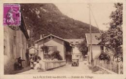 73 - Le Léchère-les-Bains - Entrée Du Village - 2 Scans - - Altri Comuni