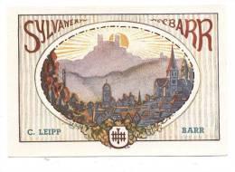 Etiquette  De  Vin  D´Alsace  -  Sylvaner   -  C. Leip Barr  (67) - Etiquettes