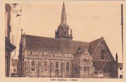 21606- BAUD (Morbihan) - L' Eglise ; Sans éd - Baud