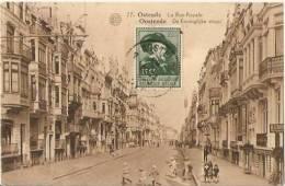 BELGIUM - OSTENDE - OOSTENDE - LA RUE ROYALE - STAMP - Oostende