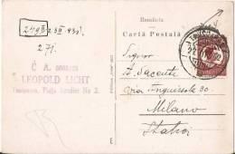 ROMANIA - TIMISOARA - PLATA SEVER AXENTE SI BUL. BERTHELOT - 1931 - Romania