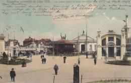 Exposition Universelle De Liege 1905 Les Jardins Devant Le Palais De Fetes - Expositions Universelles
