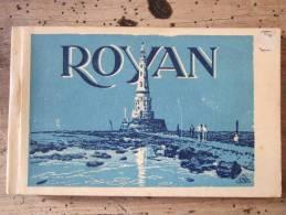 ROYAN /  BEAU CARNET COMPLET DE 20 CARTES (JOLIES ANIMATIONS)/ TOUTES LES PHOTOS - Royan