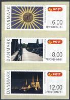 #Denmark 2012. ATM NORDIA. - Frankeervignetten (ATM/Frama)