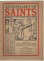 AN ALPHABET OF SAINTS - RARE - - Enfants