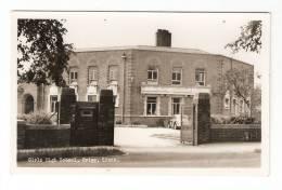 CPA :Royaume Uni : Lincolnshire : Brigg : Girls Hig School : Brigg : Ecole De Filles - Angleterre