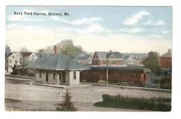 CPA : U.S.A. : Maine : Kittery : Navy Yard Station - Etats-Unis