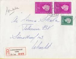 Nederland - Aangetekend/Recommandé Brief Vertrek ´s-Gravenhage - Aantekenstrookje ´s-Gravenhage Leyweg 848 - Poststempels/ Marcofilie