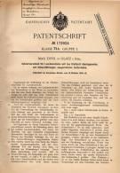 Original Patentschrift - Max Ertel In Glatz / Klodzko I. Schl., 1904, Verschluß Für Schuhe , Schnürsenkel , Schumacher ! - Shoes