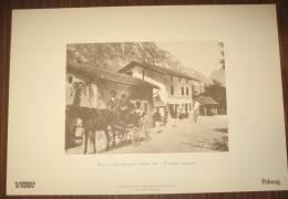 STAMPA - TEZZE DI PRIMOLANO - IL CONFINE AUSTRIACO ( VICENZA) - Altre Collezioni