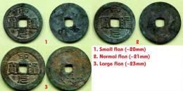 VIETNAM ANNAM NGUYEN LORDS MO TIAN SI (1736-1776) SHENG YUAN TONG BAO - FLAN VARIETIES - Vietnam