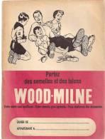 Scoutisme Protège Cahier Portez Des Semelles Et Des Talons Wood-Milne Votre Santé Sera Meilleure Des Années 1960 - Protège-cahiers