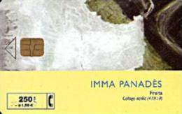 Tarjeta SPAIN P-405 Inma Panadès Coleccione Arte Nº6B  Fecha 10/99 Tirada 4000 - España