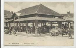 NEMOURS (77) - CPA - LE MARCHE AUX VEAUX - Nemours
