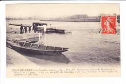 CRUE Du CHER  --  TOURS  --  Barage Et écluse De Rochepinard. - Tours