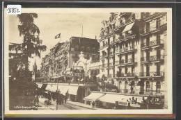 DISTRICT DE VEVEY /// MONTREUX - PALACE HOTEL - TB - VD Waadt