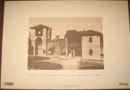 STAMPA - VICENZA - TORRIONE DI SANTA CROCE E INGRESSO AL BAGNO PUBBLICO SUL BACCHIGLIONE ( VICENZA) - Altre Collezioni