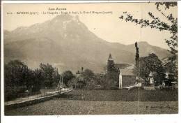 SAVINES  -  La Chapelle - Dans Le Fond, Le Grand Morgon (2 Scans ) ( Carte Pliée ) - Zonder Classificatie