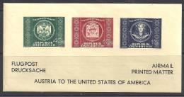 AUTRICHE - Bloc U.P.U.  1949 * - Blocs & Hojas
