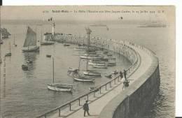 35 - ILLE ET VILAINE - SAINT MALO -  Le Mole - Saint Malo