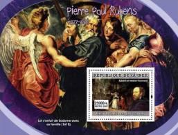 gu0744a Guinea 2007 ART Painting Flemish painters s/s P.P.Rubens